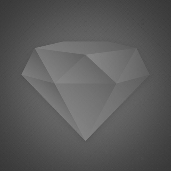 Graphic of diamond