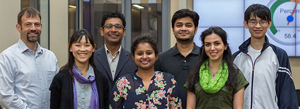 Team of researchers at Center for Data Science