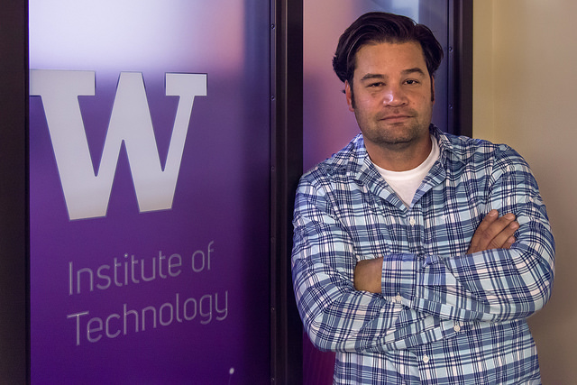 Matt Tolentino at Institute of Technology UW Tacoma